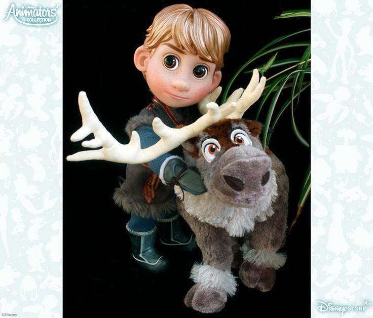 Kristoff et Sven sont inséparables depuis leur plus jeune âge !