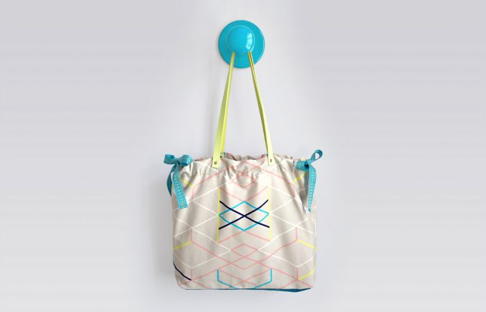 DIY Nähanleitung: Tasche selber nähen // diy tutorial: How to sew a summer bag via blog.dawanda.com