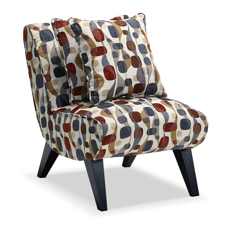 Adrian Accent Accent Chair   Value City Furniture331 best Mid Century Modern images on Pinterest   Couch  Mid  . Red Accent Chair For Bedroom. Home Design Ideas