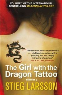 """The Girl with the Dragon Tatoo"" - Stieg Larsson"