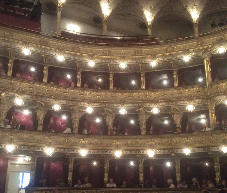 The beautiful Prague Opera House