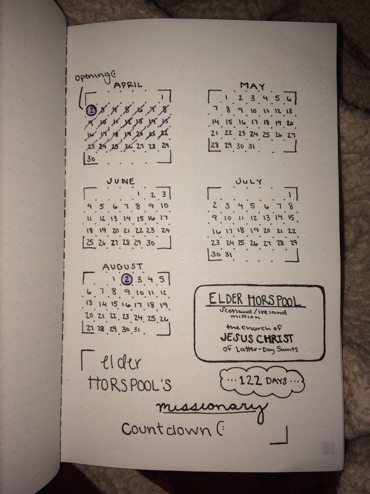 Best Friend Missionary Countdown!(: