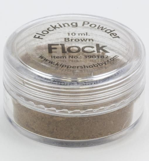 Flocking Powder Brown