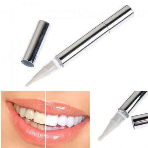 Что такое карандаш для отбеливания зубов Teeth Whitening Pen  Карандаш для отбеливания зубов Teeth Whitening Pen – бережное средство по уходу за эмалью зубов. Тщательно отбеливает зубы за короткий срок.  Процедура занимает несколько минут и не требует каких-то спецсредств.  Преимущества карандаша для отбеливания зубов Teeth Whitening Pen  Безвреден (состав: глицерин, перекись кербамида, масло мяты перечной карбомер, триэтаноламин)  Удобный аппликатор нанесения геля  Экономия на дорогостоящих…