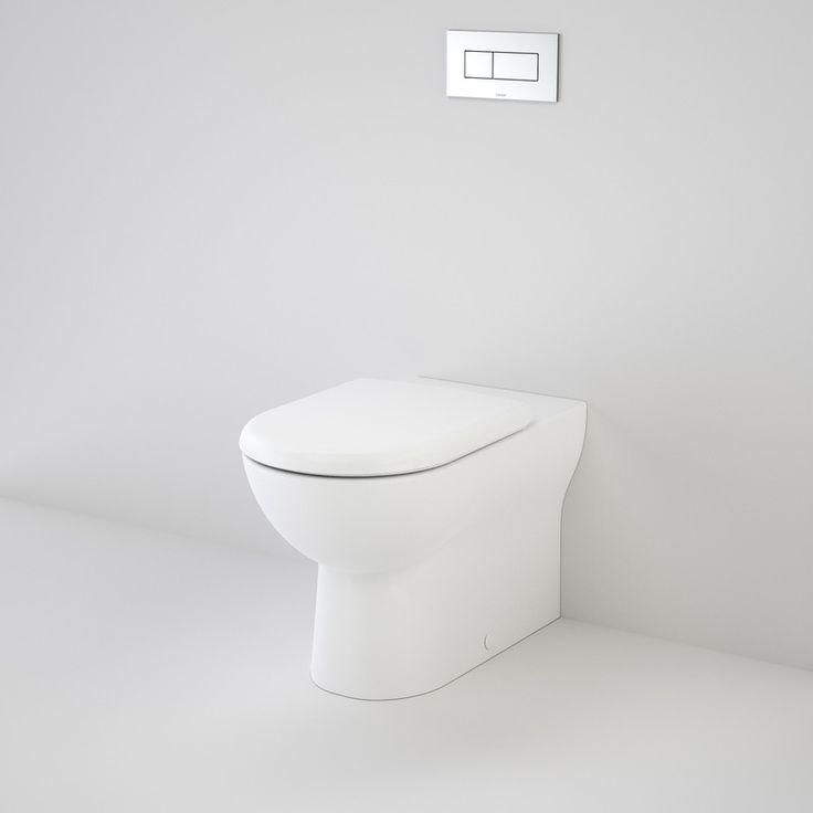 Metro Invisi Series II Wall Faced SC Suite http://www.caroma.com.au/bathrooms/toilet-suites/metro/metro-invisi-series-ii-wall-faced-toilet-suite