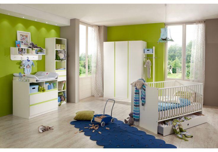 Awesome Dieses tolle Babyzimmer l sst keine W nsche offen Der Kleiderschrank und die Wickelkommode bieten Ihnen gen gend Stauraumm glichkeiten Das tolle u