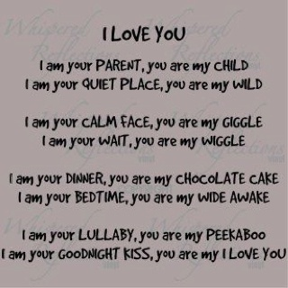 Great poem for any mums...