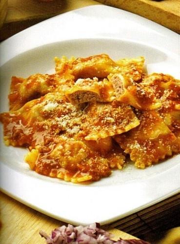 Agnolotti alla piemontese. Piedmontese Agnolotti. Delicious!!!
