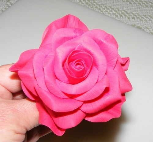 gum paste roses instructions