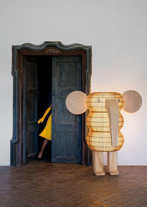 Isidro Ferrer – Elephant floor lamp for LZF Lamps
