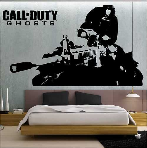 Children S Party Box Wall Art For Girl S Bedroom: Call Of Duty Ghosts Wall Stickers / Wall Transfer / Vinyl