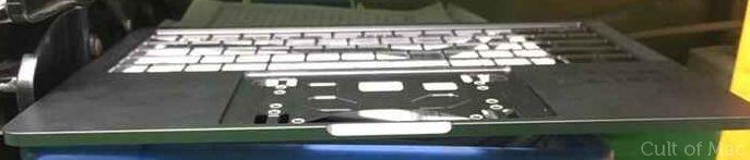 Leaked Macbook Pro unibody reveals redesign