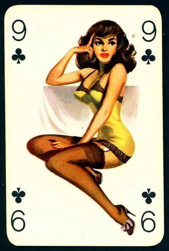 Картинки игральные карты с девушками