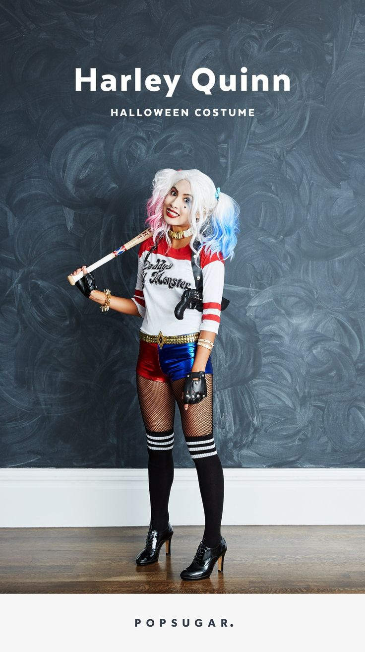 Dressing like Harley Quinn for Halloween this year is super easy, thanks to this helpful how-to.