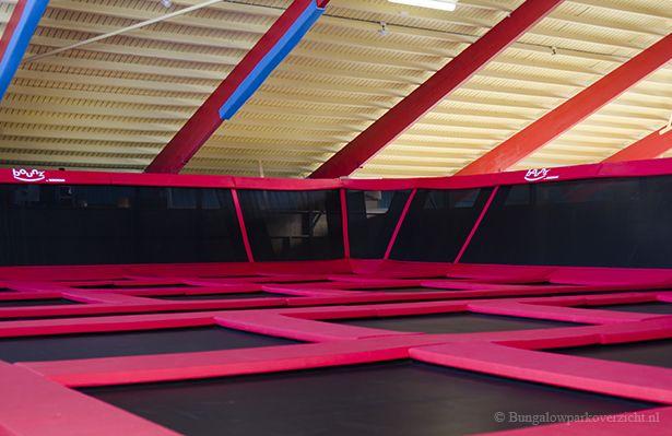 Nieuw op Hof van Saksen. Bounz® trampoline arena!