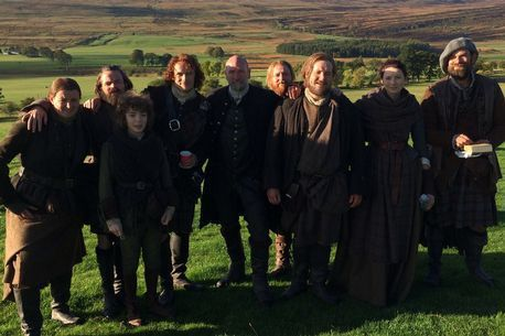 Outlander cast photo