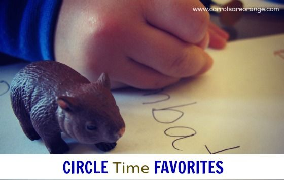 Circle Time Must Haves (for homeschool)