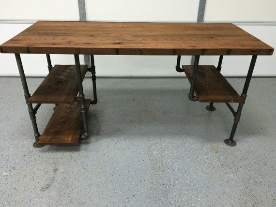 reclaimed wood tables, computer desks and wood tables on pinterest