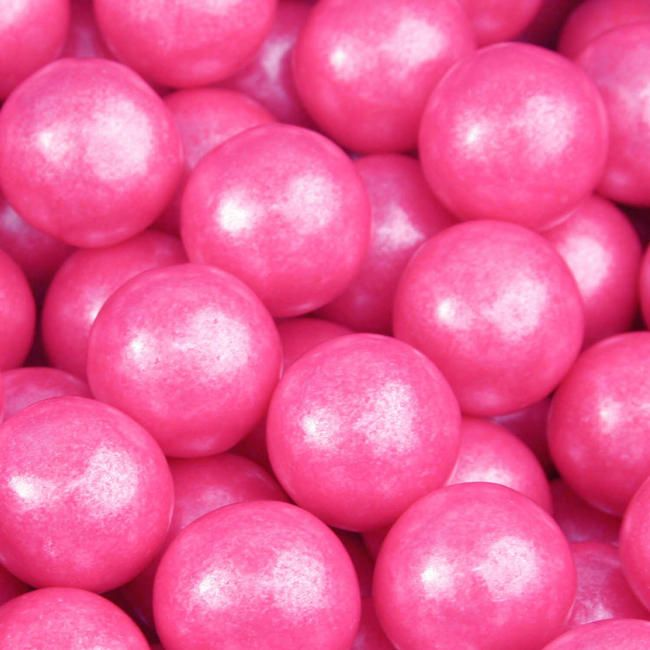 Bright Pink Pearl Gumballs  Win This Pink Candy. To enter: Click on this link. Re-pin it. let us know you did it.