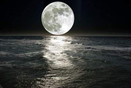 Księżyc  #fototapeta #fototapety