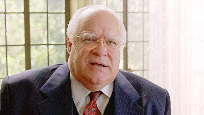 David Huddleston. American actor,  17.09.30 - 02.08.16, aged 85