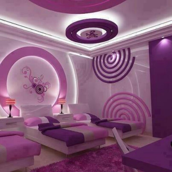 Purple And Pink Bedroom: Pink And Purple Room
