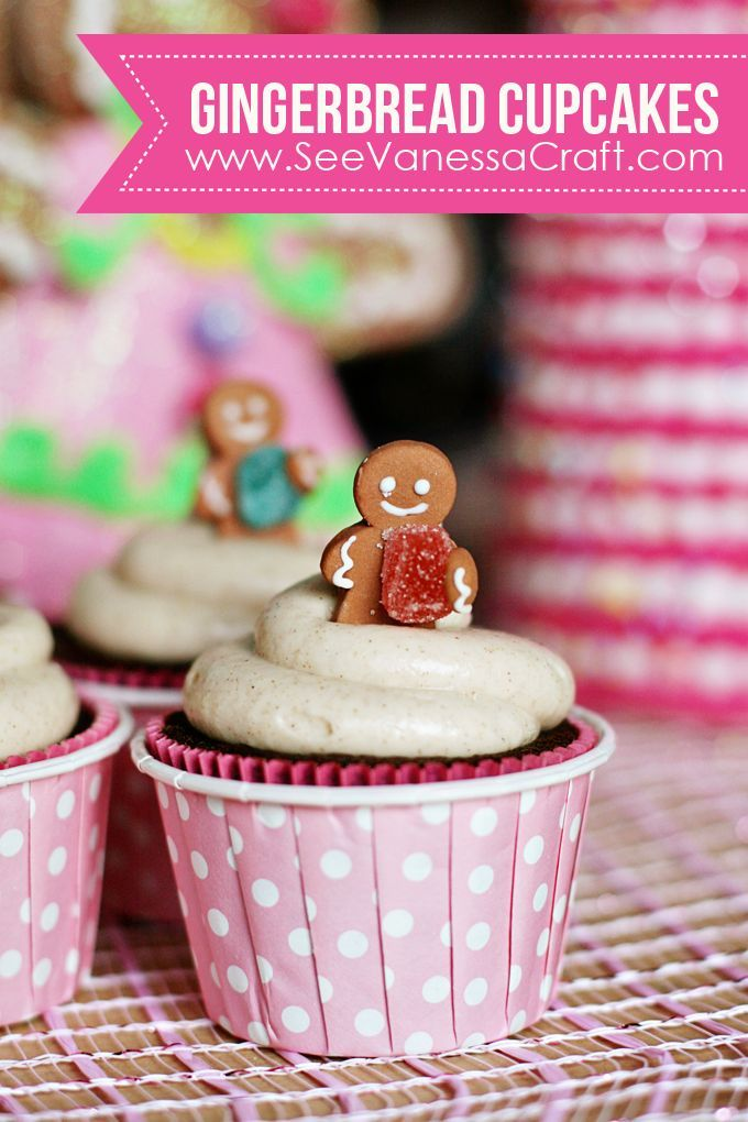 recipe) gingerbread cupcakes Bloggers Best DIY, Crafts and Recipes