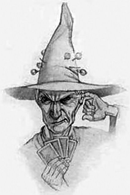 "Granny Weatherwax - my all time favorite witch and maybe favorite character period.   Nanny Ogg: ""No one would come up here this time of night.""  Magrat Garlick: ""What's to be afraid of ?""   Granny: (Smugly) ""Us."""
