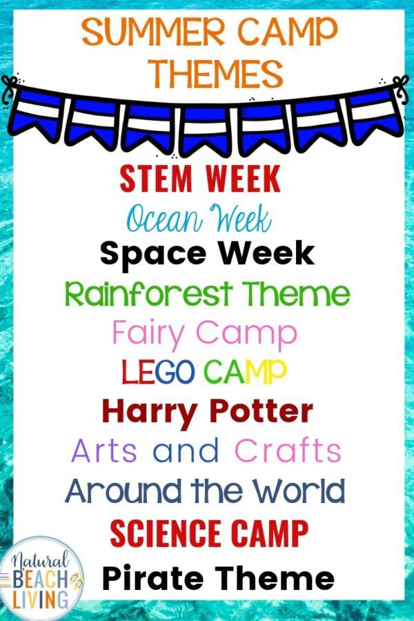 30 Summer Camp Themes The Best Summer Themes For Kids Summer