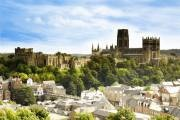 The Durham skyline:  Arriving into the city by train? Abandon your newspaper, switch off your iPod, look up and feast your eyes on one of the very best man-made views in Europe. The World Heritage Site of Durham Cathedral and Durham Castle dominates the skyline