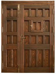 puerta madera rustica - Buscar con Google