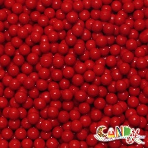 Truck Party Ideas: Candy Pearls Red: 10 LBS