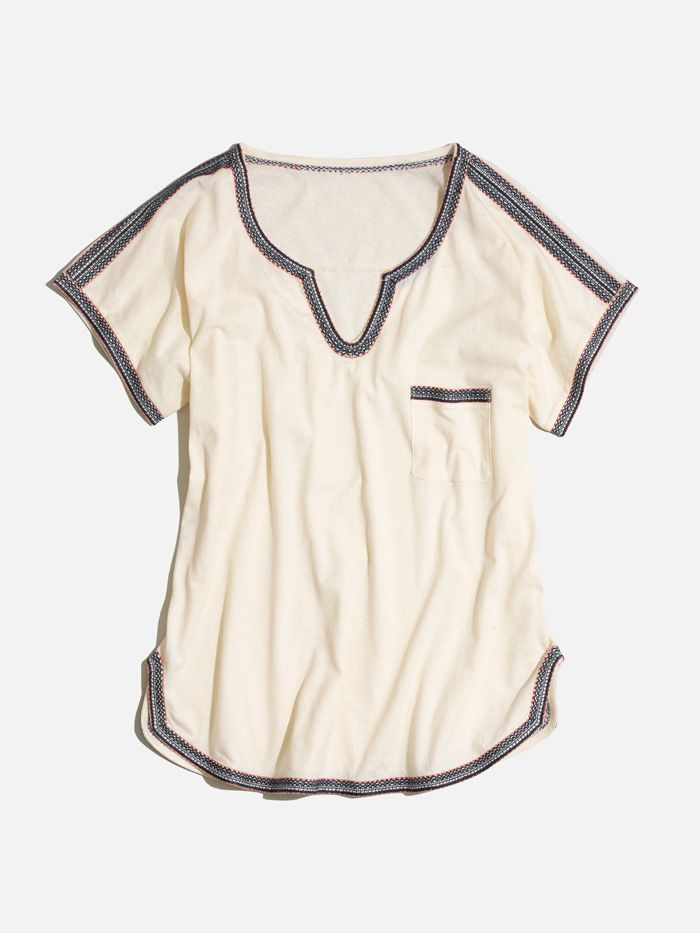 madewell stitchery pocket tee