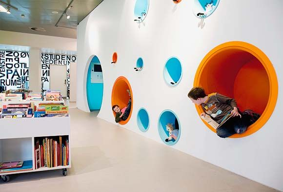 Central Library Hjørring, Denmark | interior library