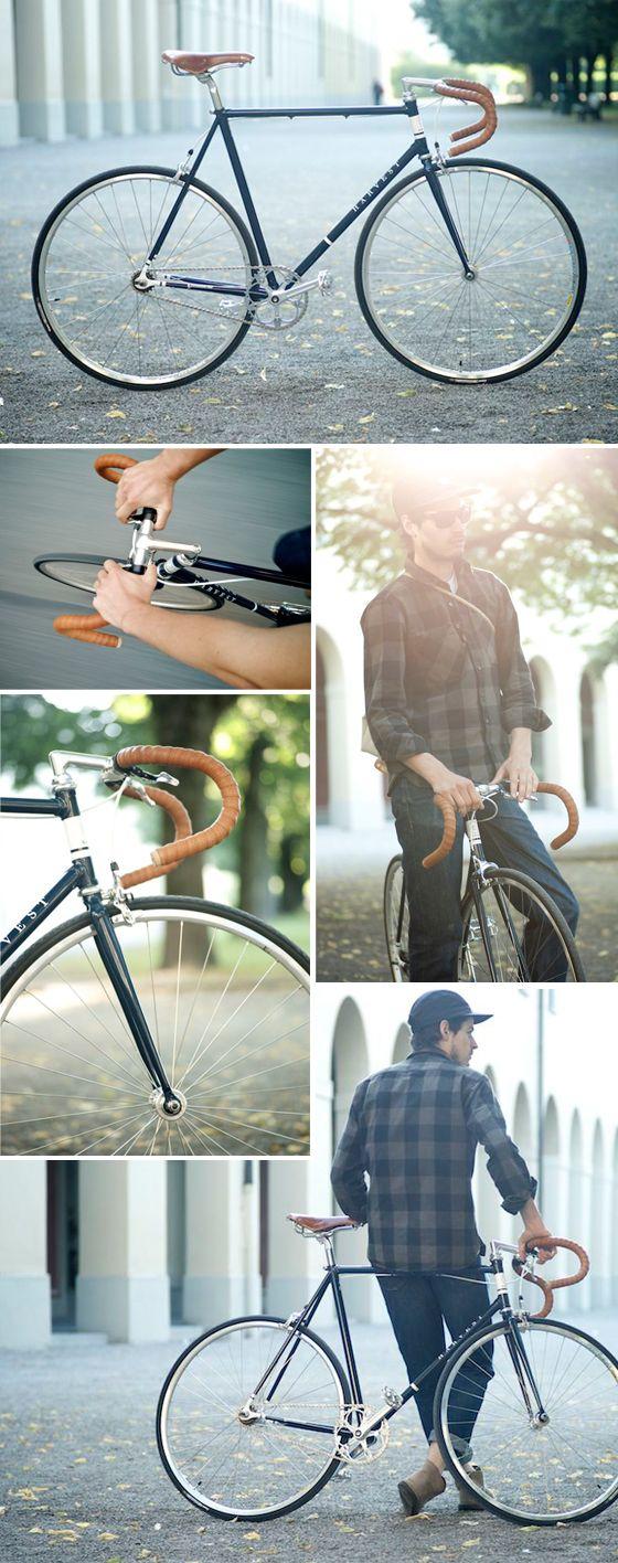Single Speed Racing Bike   Harvest   Harvest