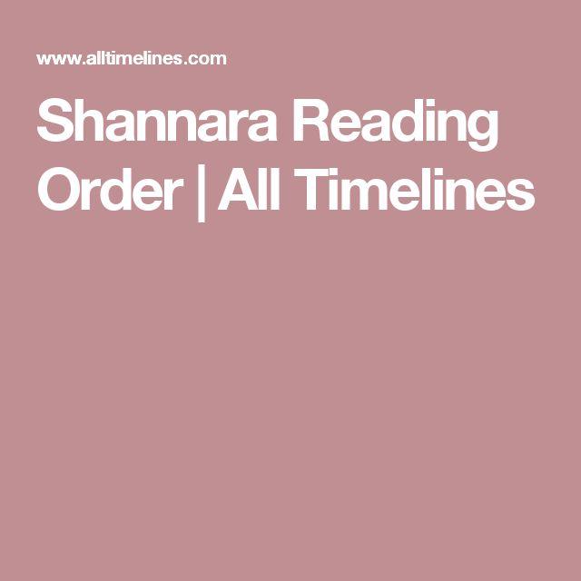 Shannara Reading Order | All Timelines