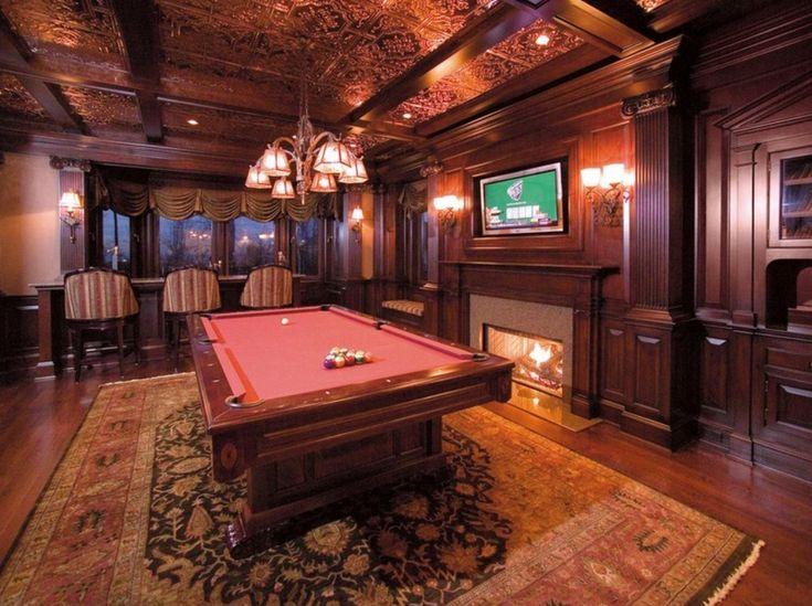 54 Best Billiard Room Images On Pinterest: 31 Best Billiard/Pool Rooms Images On Pinterest