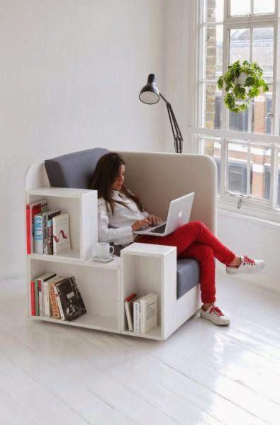 Excelentes ideas y diseños para decoración y amantes de los libros. | Quiero más diseño