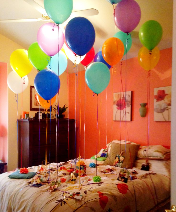25+ Unique Birthday Balloon Surprise Ideas On Pinterest