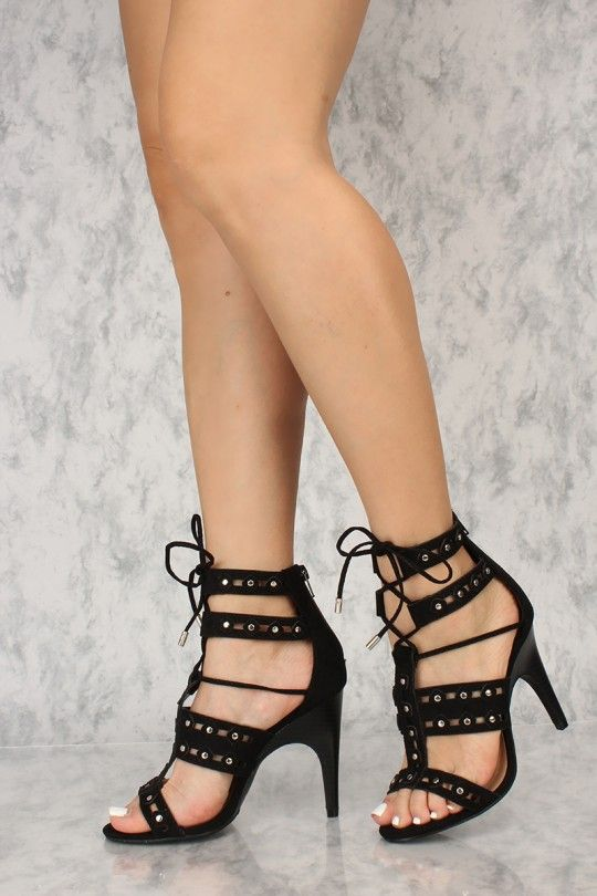 77f4bed841ba These cute and stylish heels are the perfect go to for a night out!  Featuring  nubuck