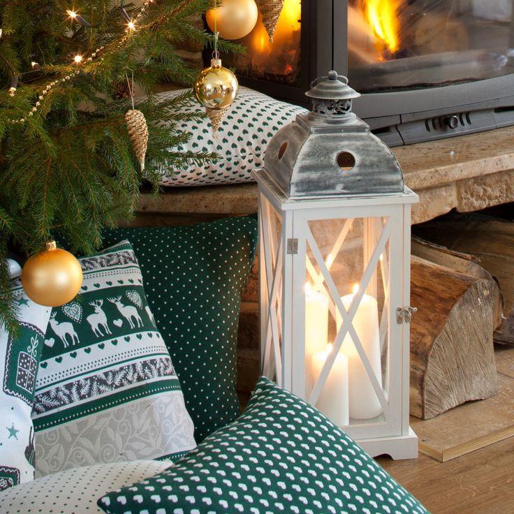 Latarnia na świece - dekoracje świąteczne http://www.dekoria.pl/offer/group/293