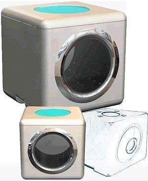 The Clean Cube #smallspaceorganization #smallspacedecor trendhunter.com