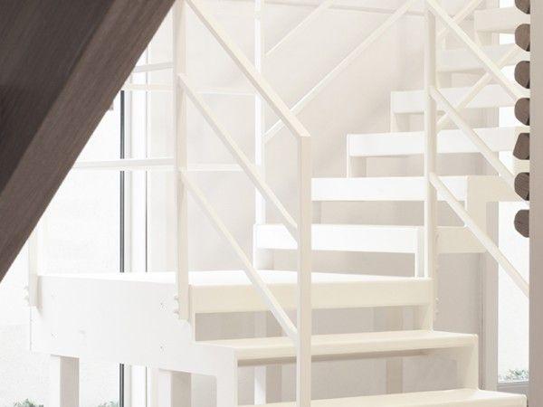 25 beste idee n over metalen trap op pinterest trap ontwerp trappenhuis ontwerp en trappen - Railing trap ontwerp ...