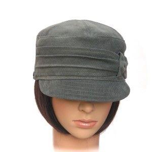 TRAIL CAP ~ sage cotton corduroy - Rosehip Hat Studio