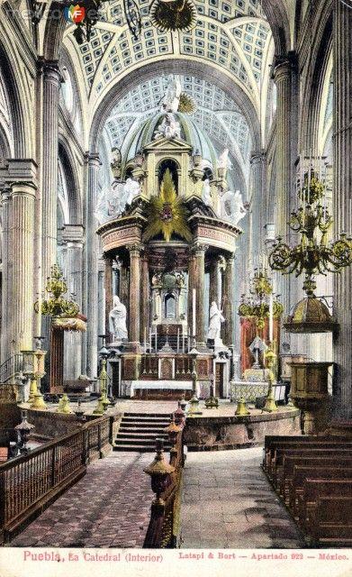 Fotos de Puebla, Puebla, México: Interior de la Catedral