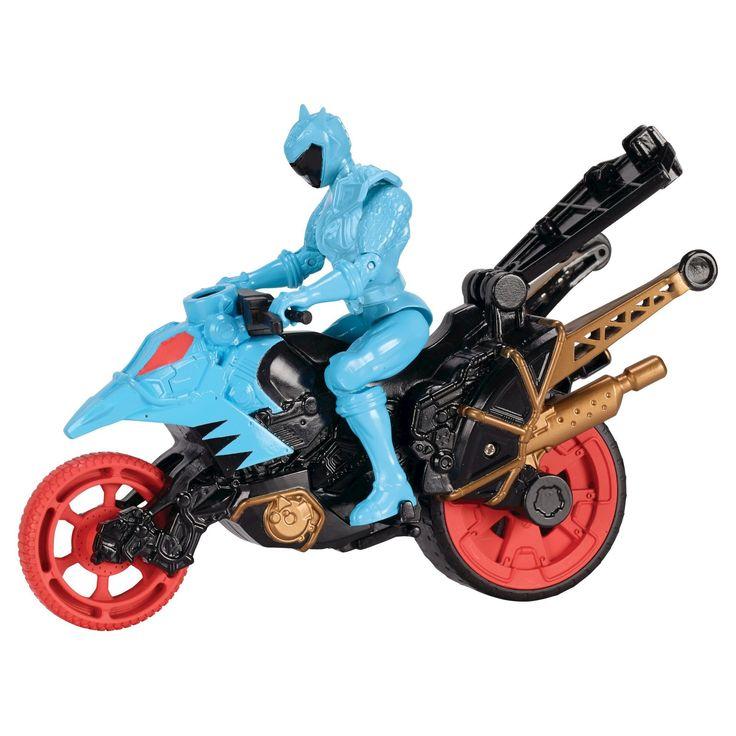 Power Rangers Dino Super Charge - Dino Stunt Bike and Aqua Ranger
