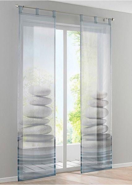 """Zasłona panelowa """"Stone"""" (1 szt.) • 59.99 zł • Bon prix"""