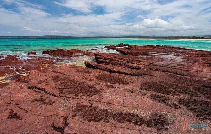 Discover Australia - Bar Beach in Merimbula, NSW