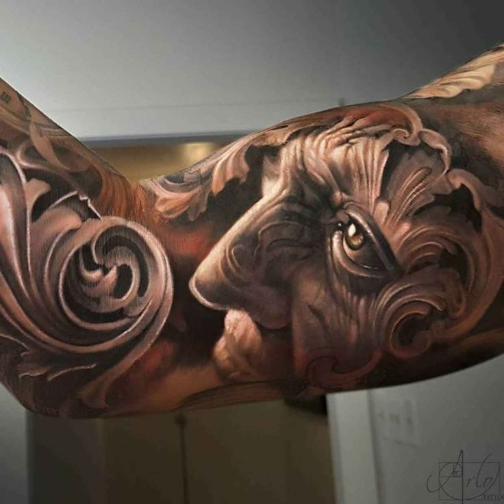 This Artists Hyper Realistic Tattoos Have a Surreal 3D Depth to Them - BlazePress