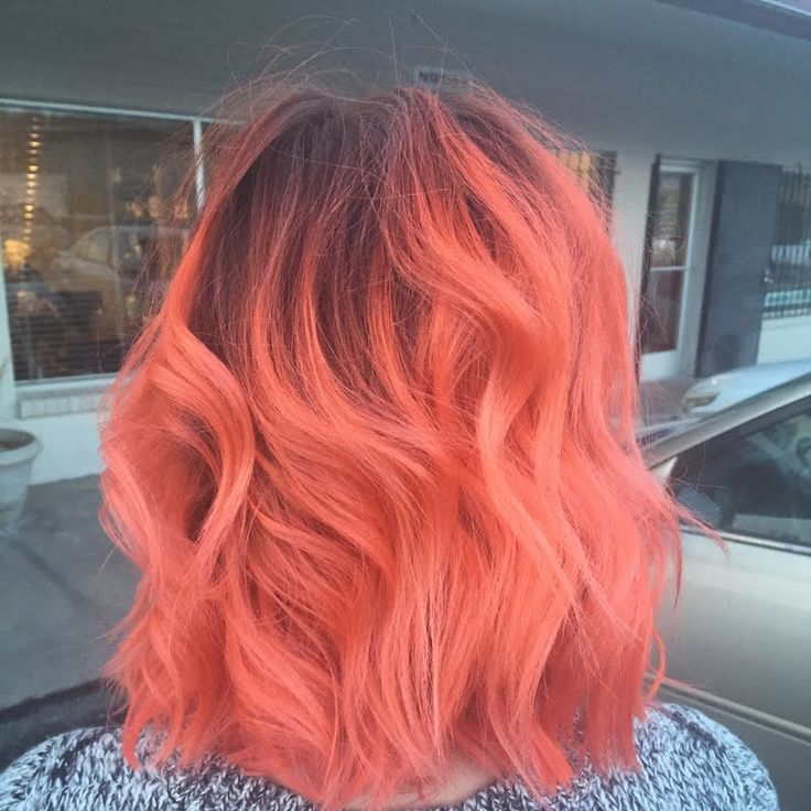 best 25 coral hair color ideas on pinterest coral hair
